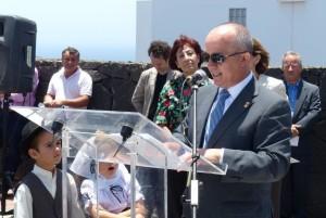 Don José Francisco Hernández - alcalde de Tías