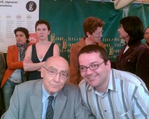 José Saramago y Fernando Merchán