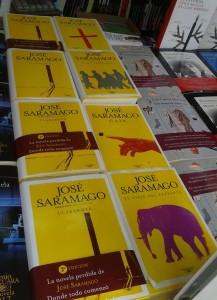 Stand Alfaguara- Obras de Saramago