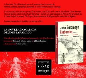 Alabardas, presentación en Lanzarote